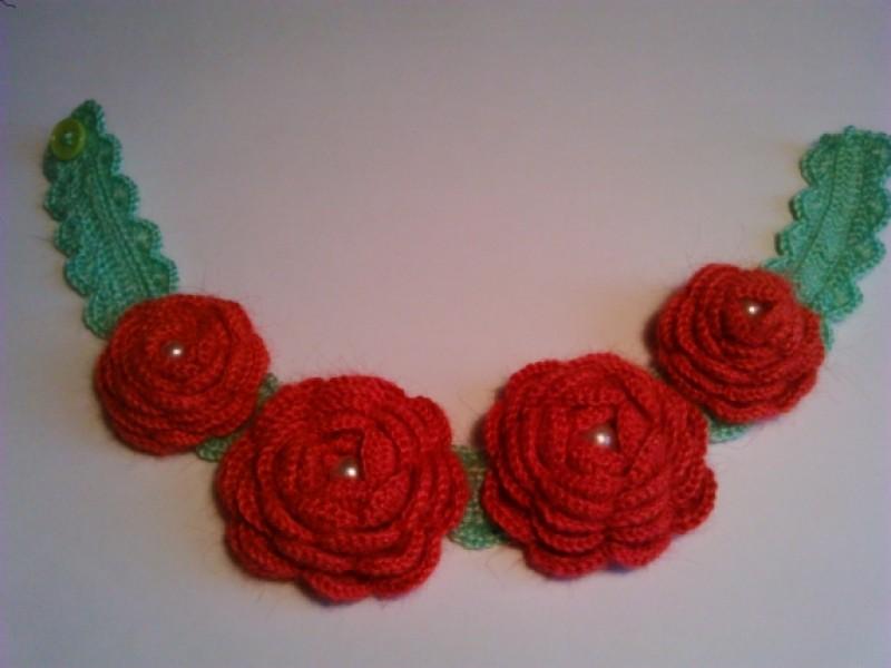 Ожерелье Букет роз