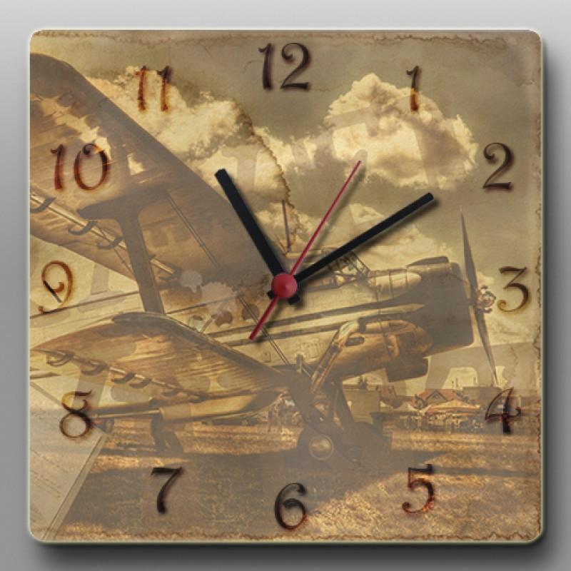 Настенные часы ручной работы