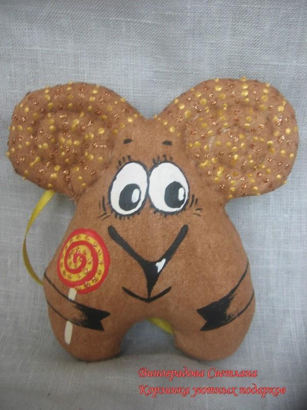 Пряничная игрушка Веселый Бараш
