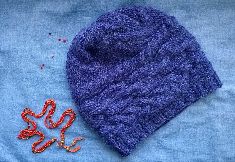Снуд и шапка (комплект) + подарок.