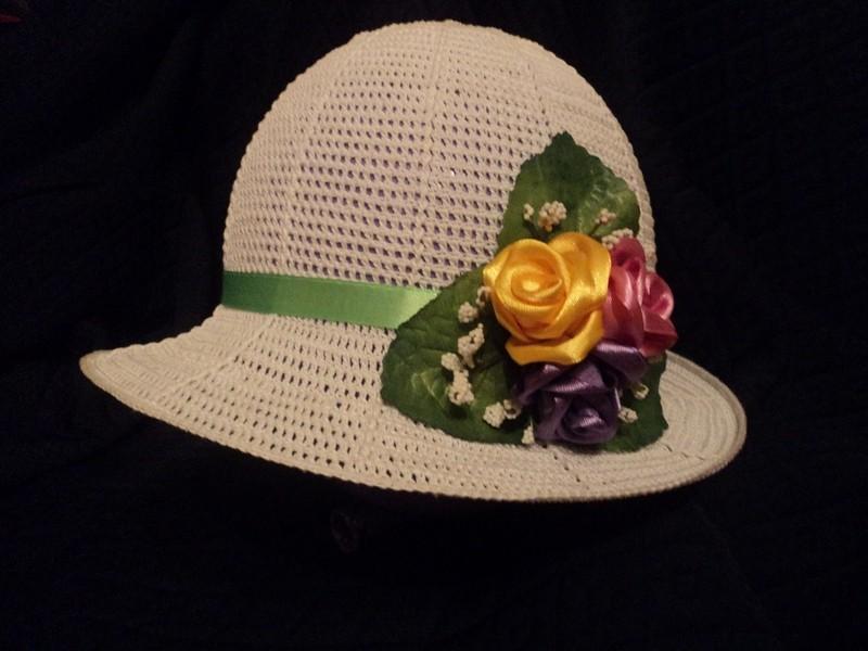 Шляпа Цветочная поляна