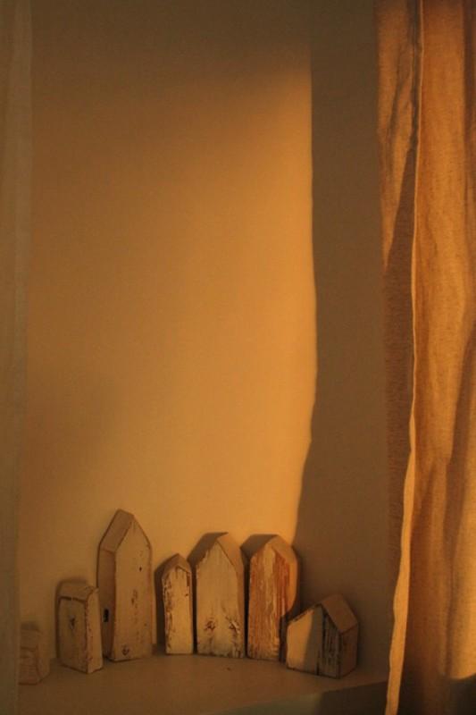 Домик деревянный.