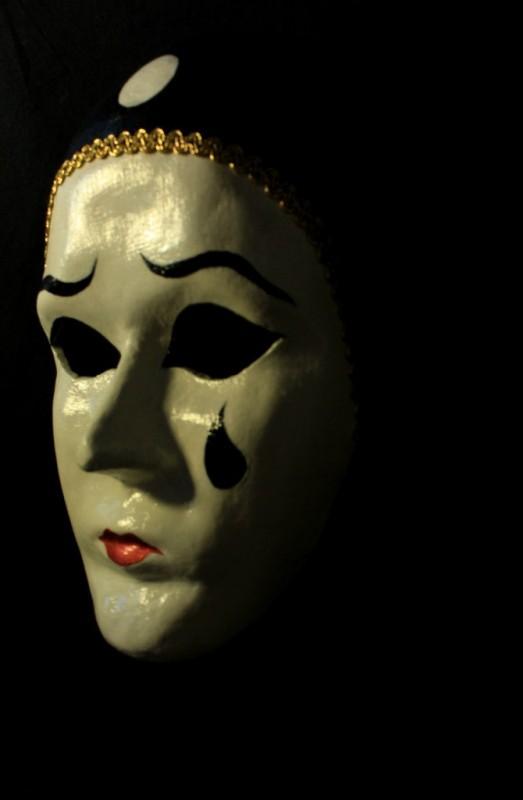 Венецианская маска Пьеро