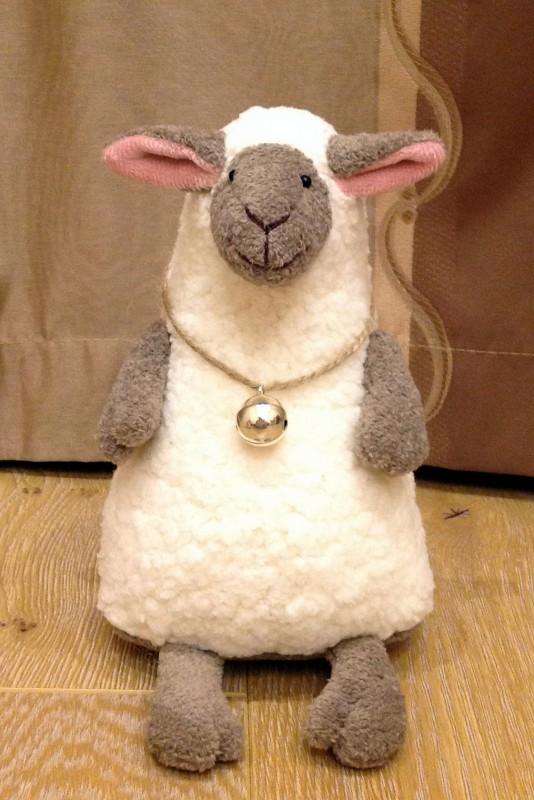 Овечка стриженая - символ 2015 года Автор овечки - Затинацкая Наталья