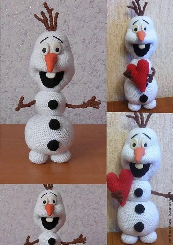 Олаф снеговик игрушка своими руками 28