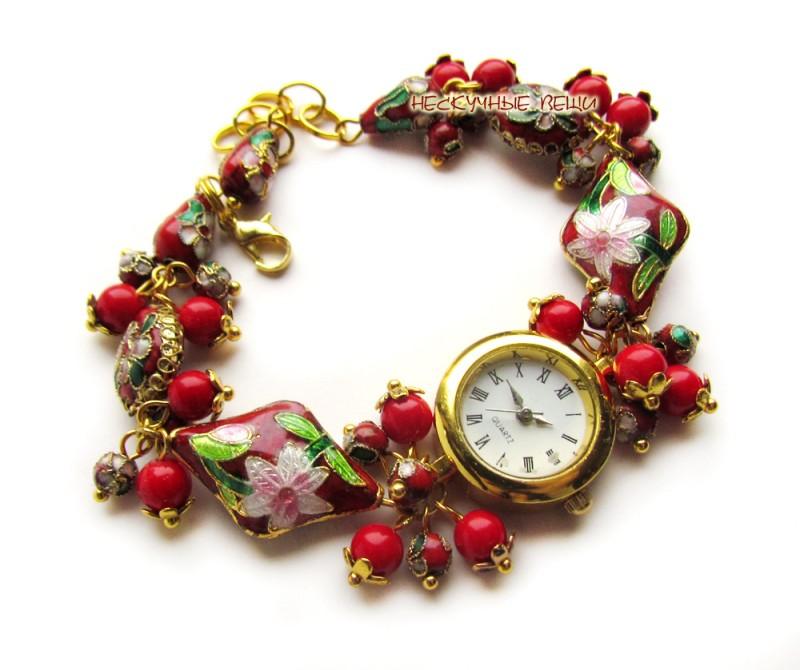 Сказка-17 наручные часы клуазоне