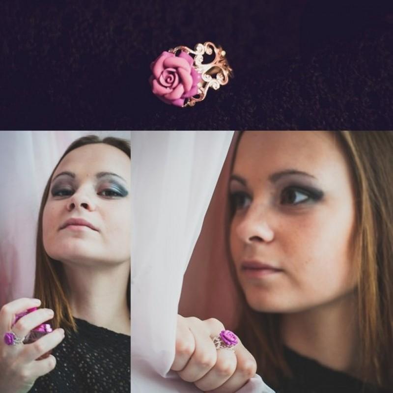 Кольцо Цветочек