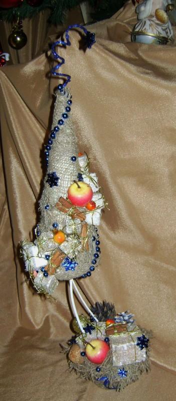 Елочка новогодняя Яблоки с корицей