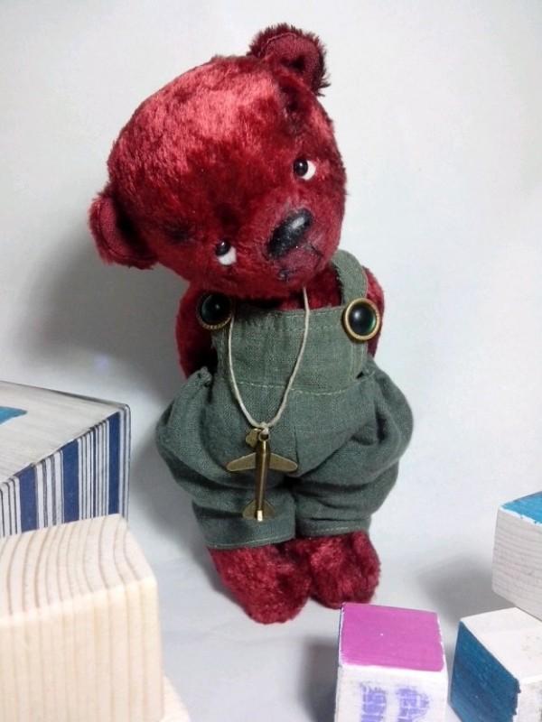 Мишка плюшевый Проказник