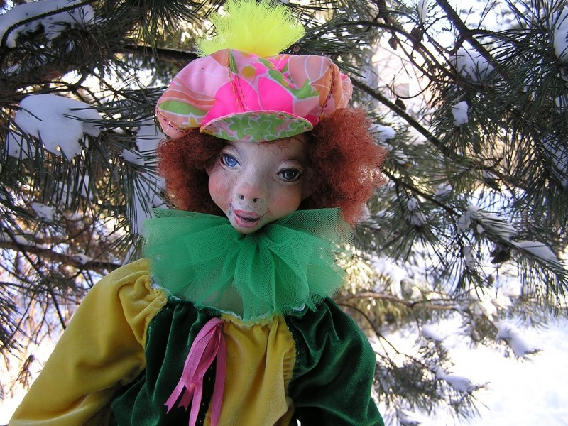 Подвижная куколка Магия...