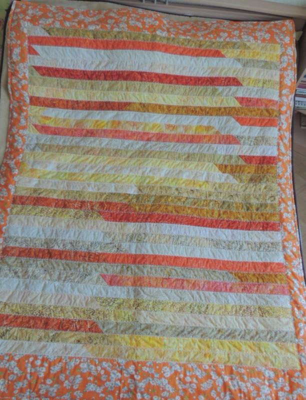 Лоскутное одеяло Солнечное настроение