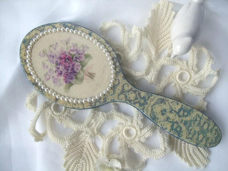 Зеркальце ручное Les violettes