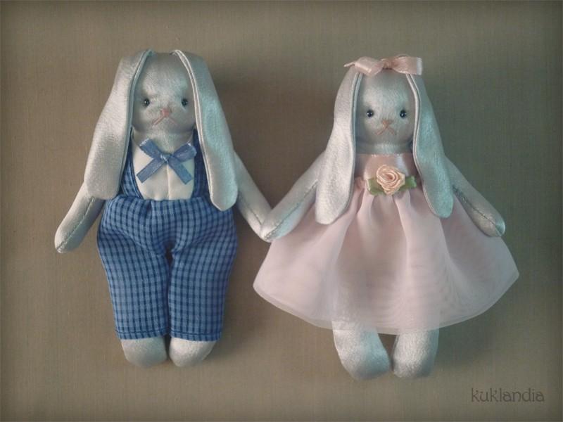 Праздничные зайки, ароматизированные игрушки