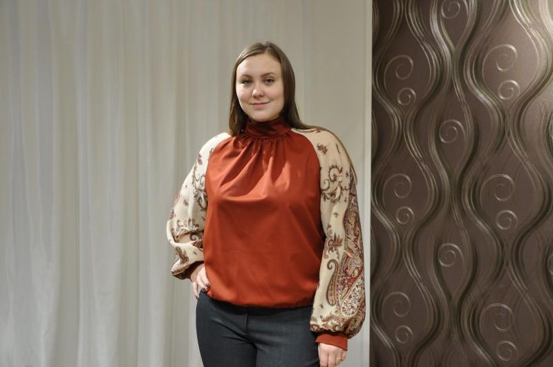 Блуза Осенняя