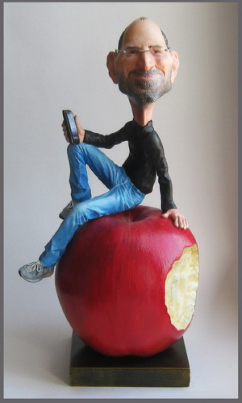 Скульптурная статуэтка - дружеский шарж