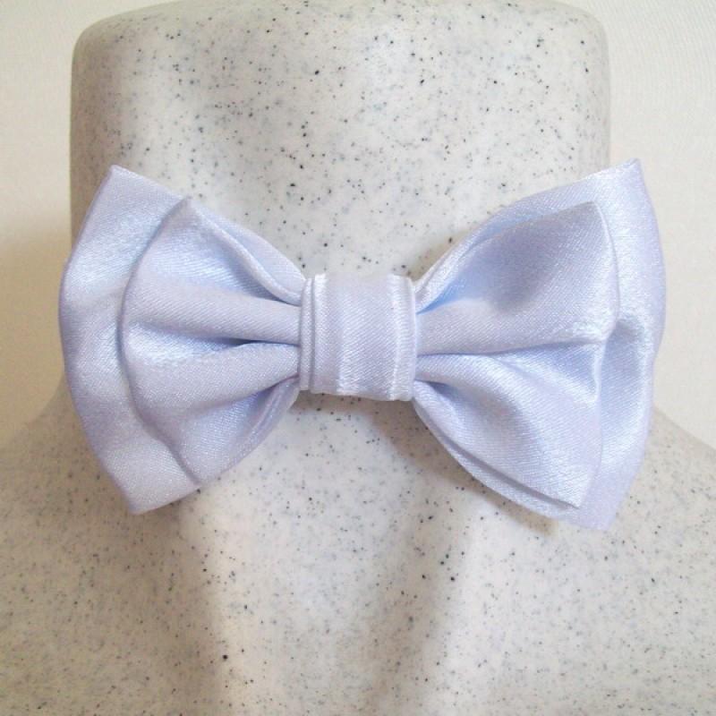 Белый галстук бабочка