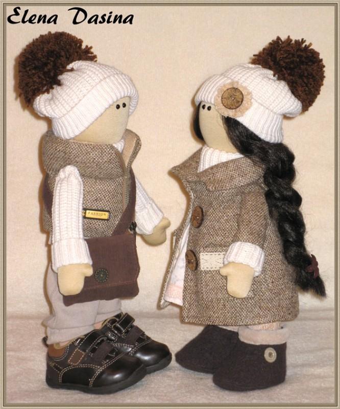 Кукла Влюбленная пара