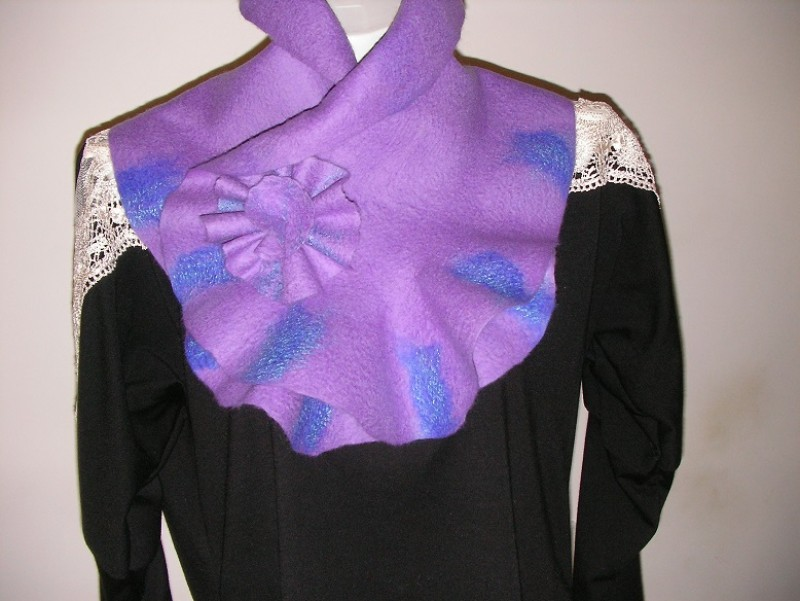 шарф-горжетка