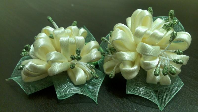 Резиночки для волос Цветы