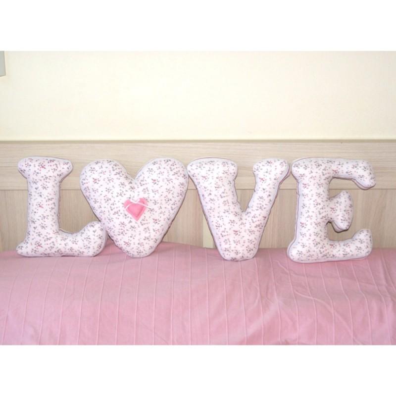 Мягкие буквы LOVE