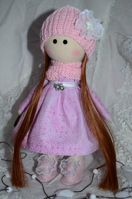 Интерьерная текстильная кукла Сьюзи