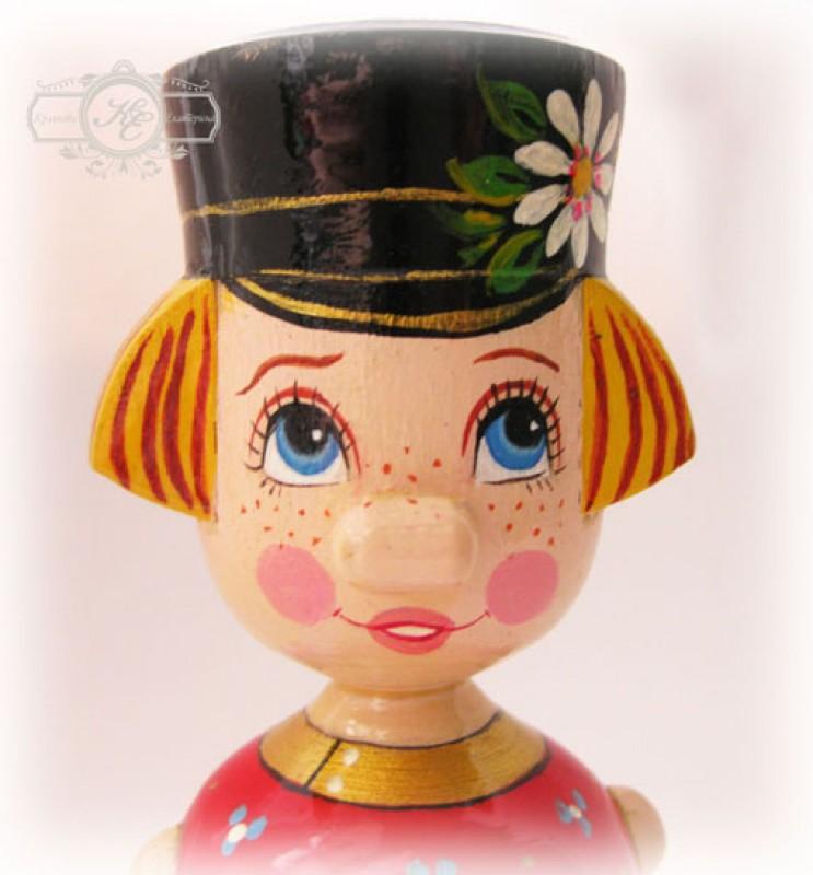 Кукла деревянная Иванушка