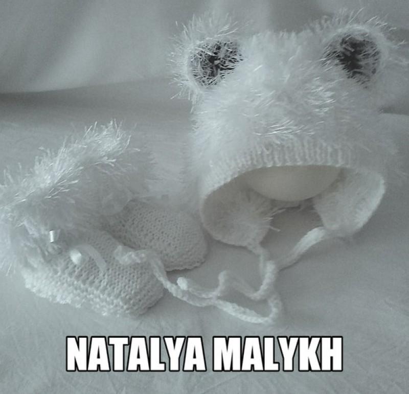 Комплект для новорожденногоМишка на севере