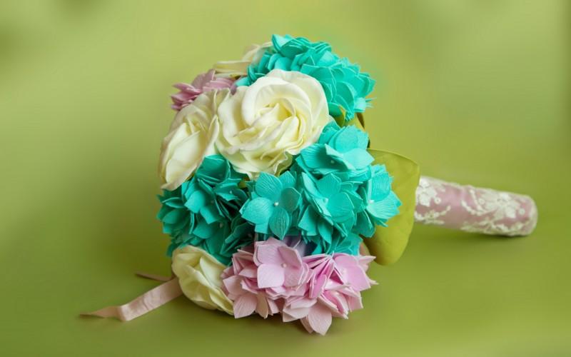 Свадебный букет для невесты «Фантазия».