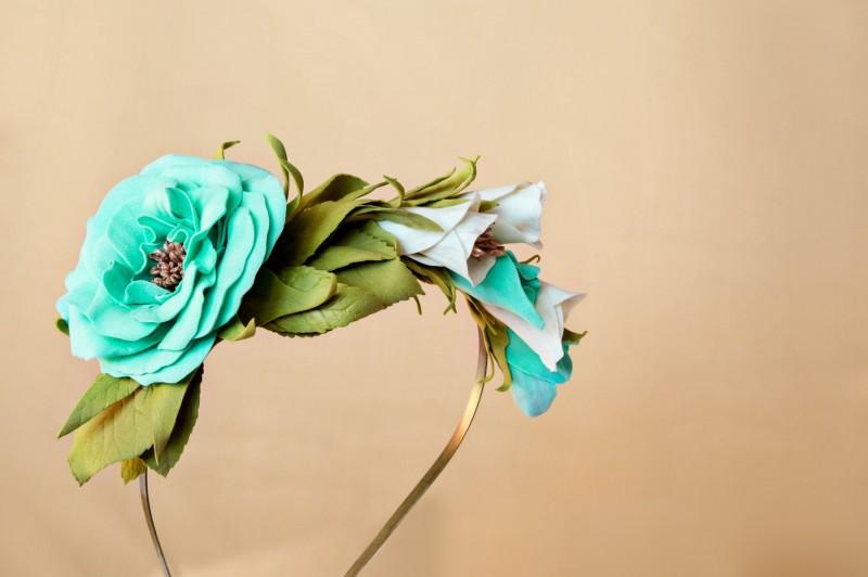 Ободок для волос «Весна».