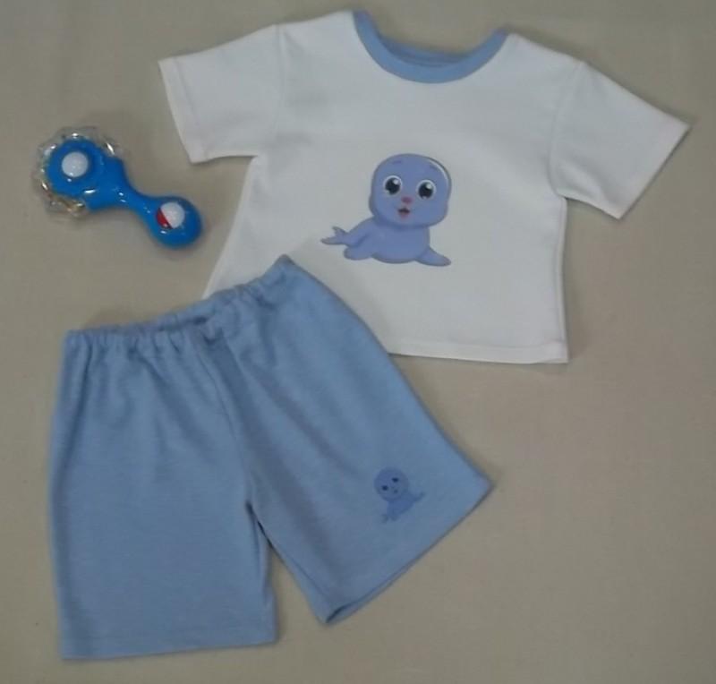 Футболочка и шорты. Комплект детский Малыш
