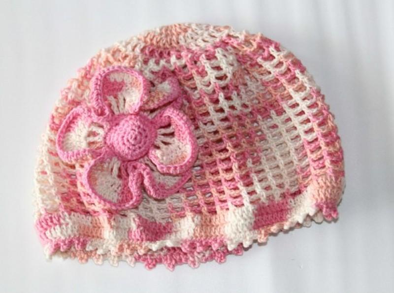 Летняя шапочка Нежность