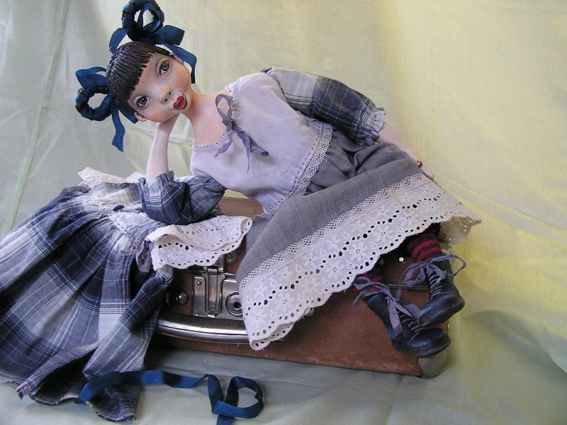 Будуарная кукла Маришка...