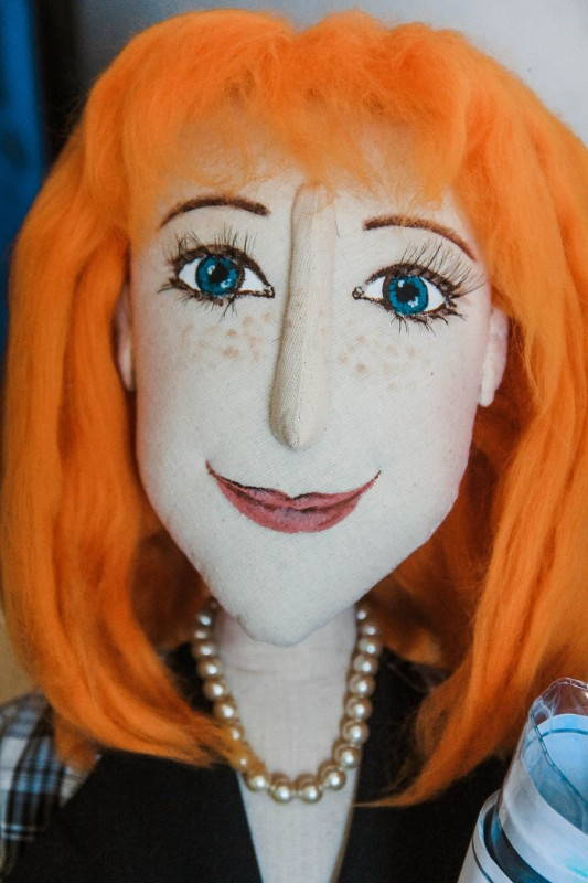 Портретная кукла Бухгалтер