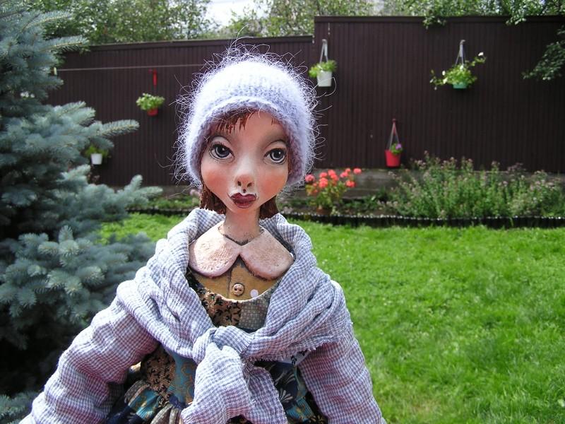 Подвижная будуарная куколка Герда