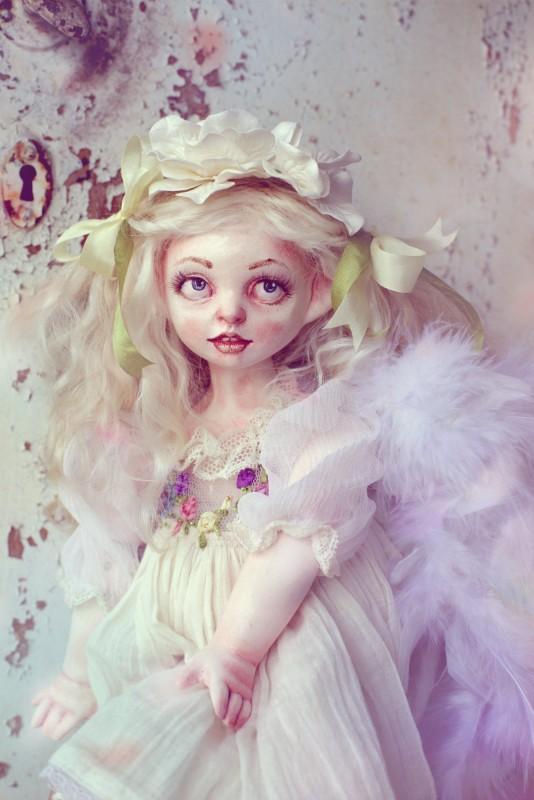 Музыкальная кукла-ангел Шептун Омела