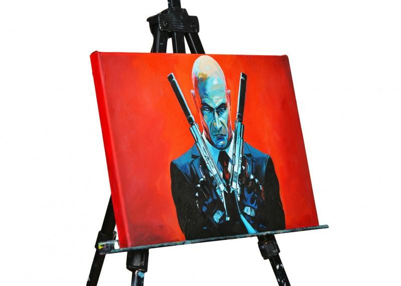 Картина на холсте: Стрелок