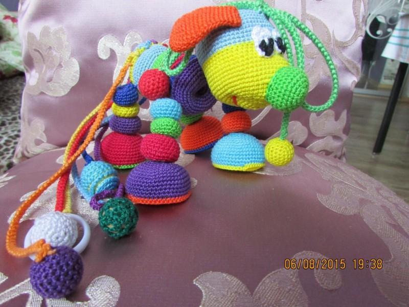 Развивающая игрушка Шарик-Лошарик