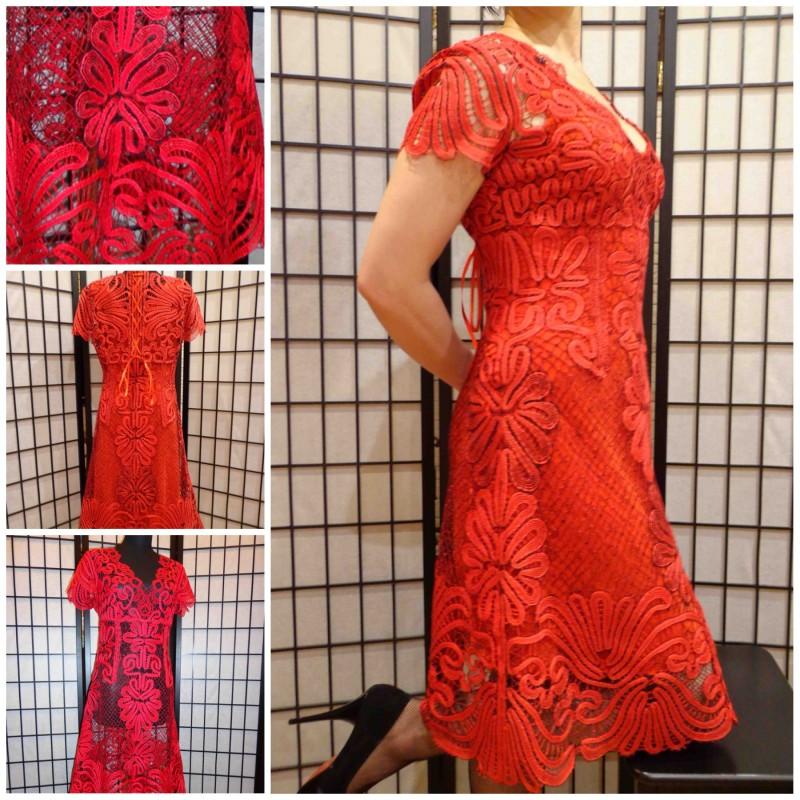 Платье Гладиолус