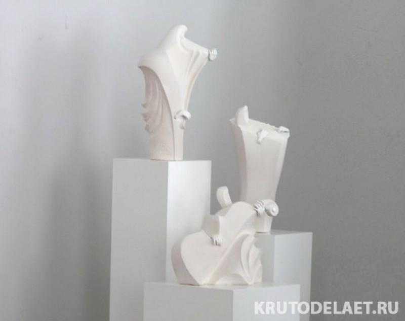 скульптурная композиция Музыка