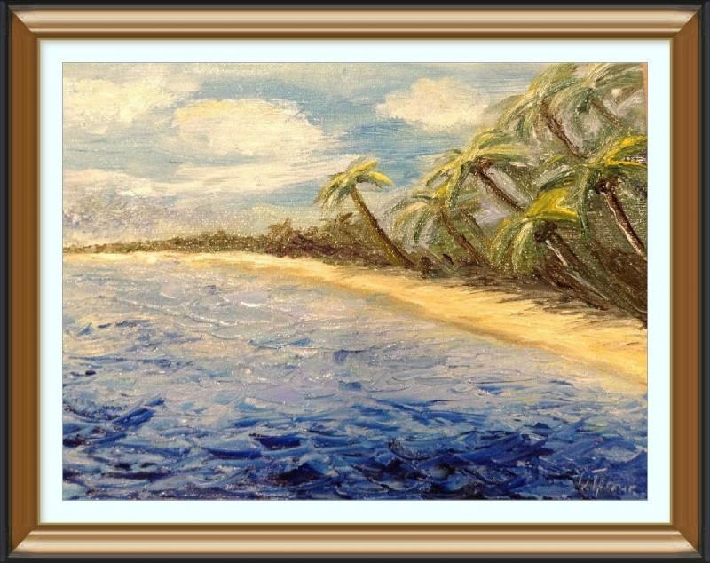 Авторская картина Море моей мечты