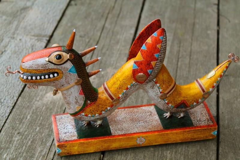 Фигура дракона