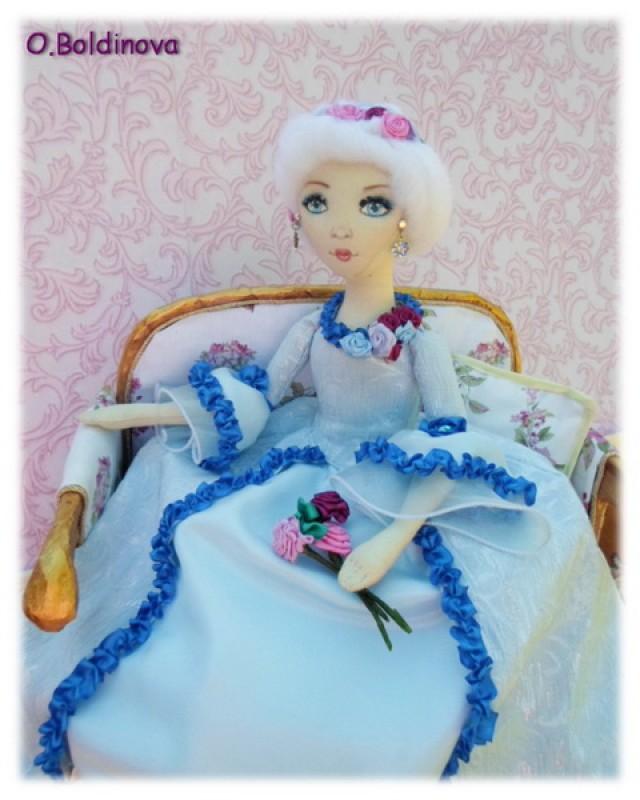 Интерьерная кукла Мария-Антуанетта