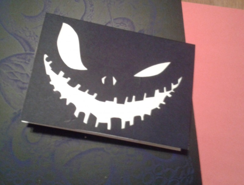Открытка - Хэллоуинка Jack-o-lanterns