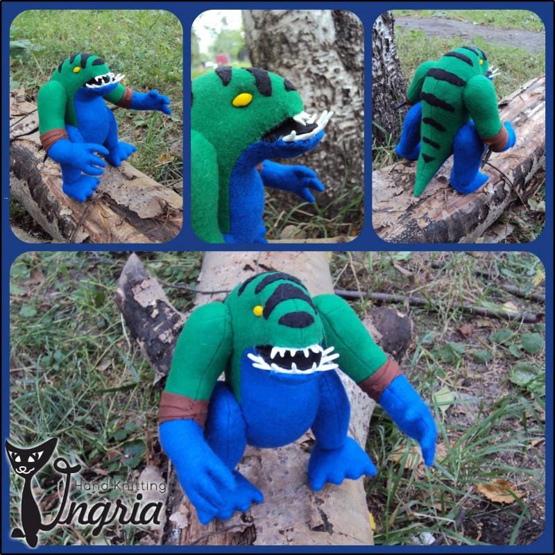 Tidehunter - герой из игры Dota 2, игрушка в подарок.