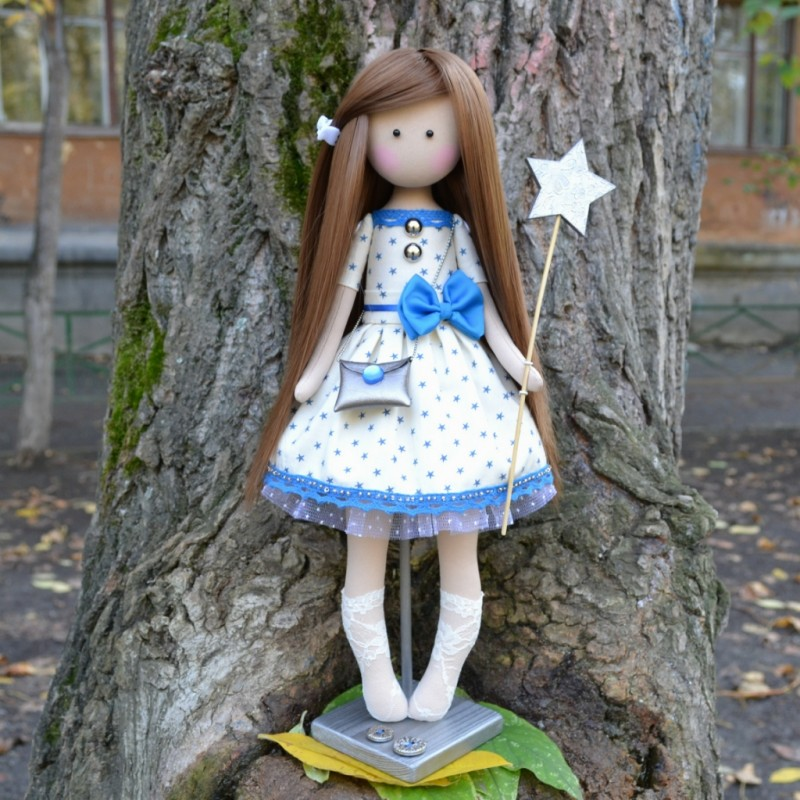 Интерьерная куколка Волшебница