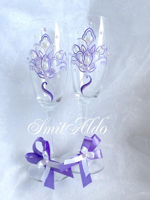 Бокалы Фиолет
