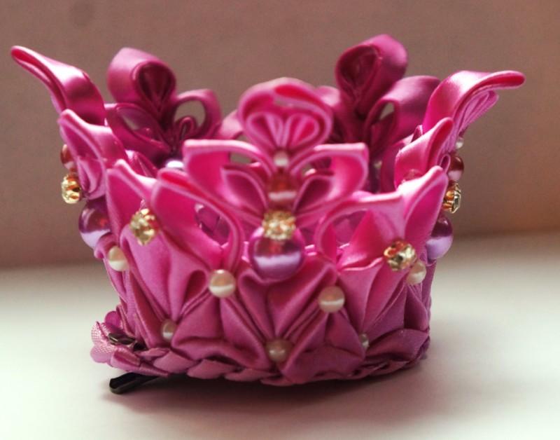 Розовая корона Принцесса