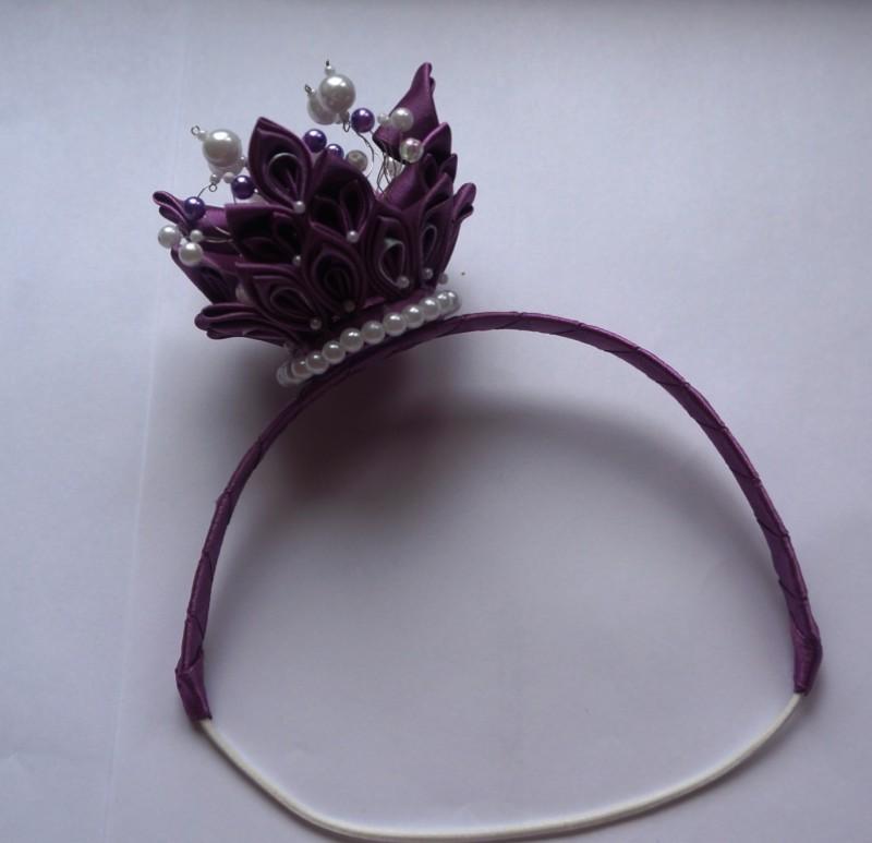 Корона Фиолетовый перламутр