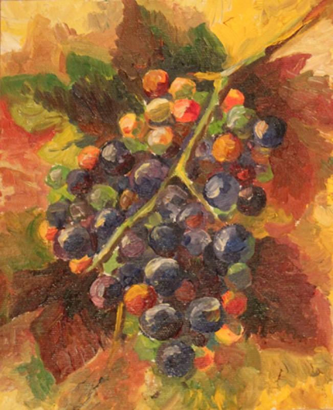 Картина Виноградная лоза