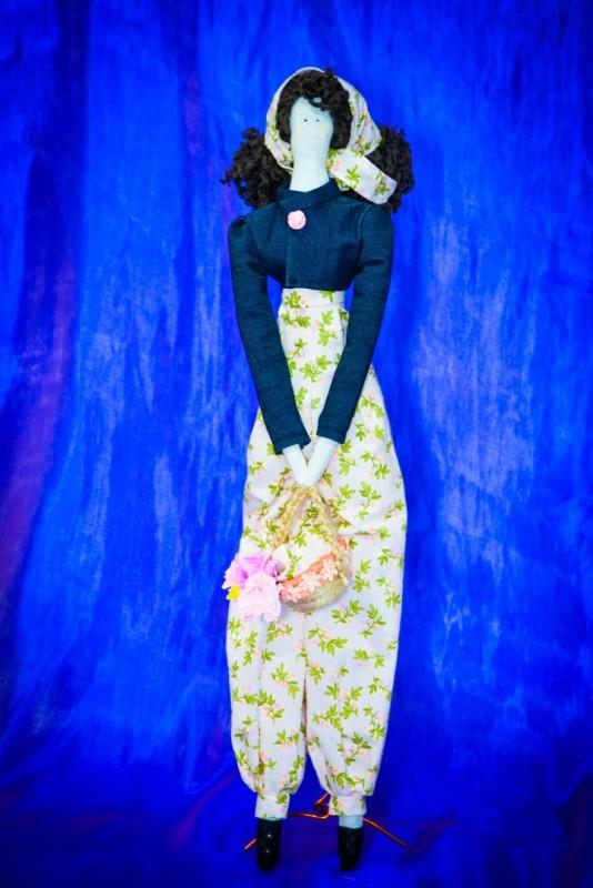 Текстильная кукла Клара